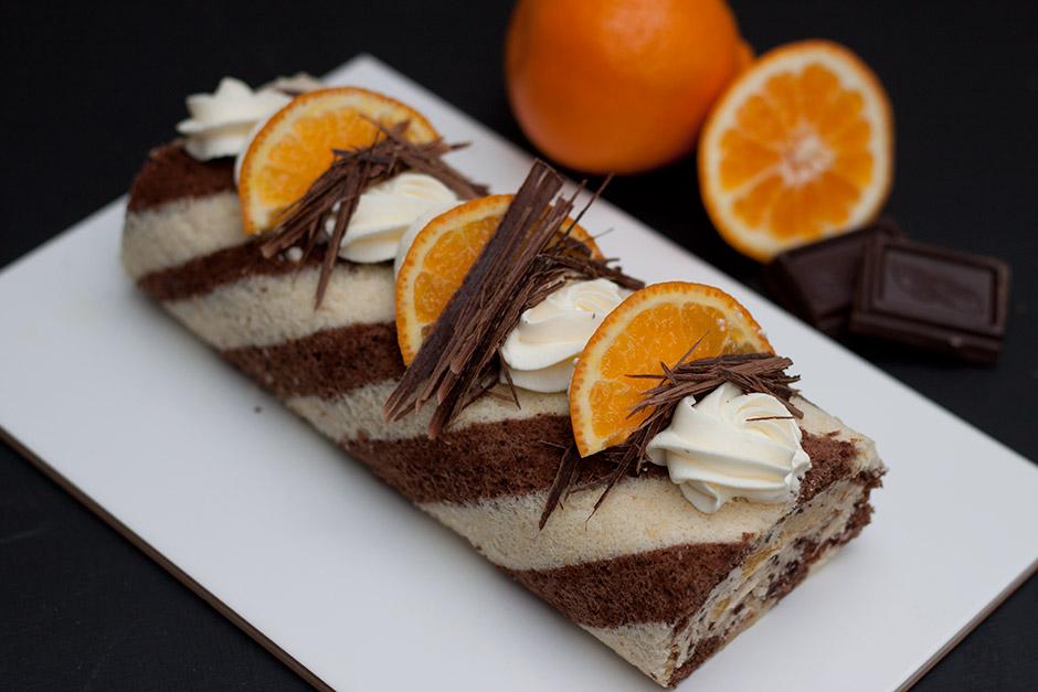appelsiini-suklaa-kaaretorttu