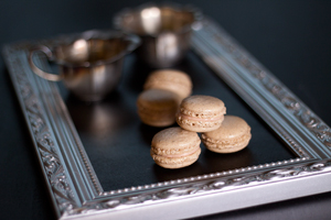 Glögi macarons