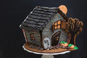 Halloween piparkakkutalo